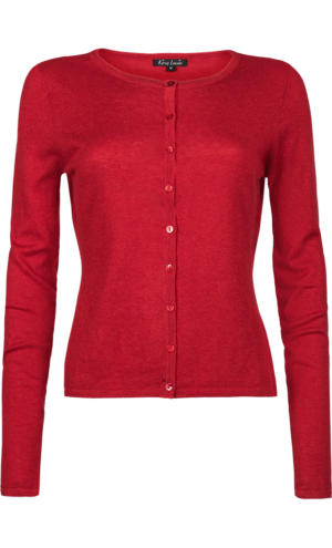 King Louie Cocoon cardigan icon red