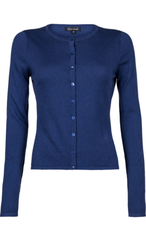 King Louie Cocoon cardigan jet blue