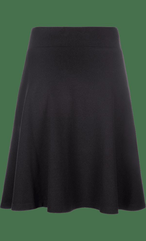 King Louie Sofia Skirt Milano Crepe Black 1