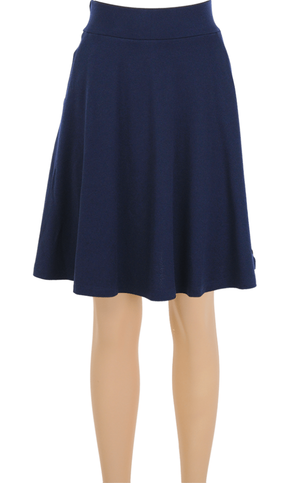 King Louie Sofia Skirt Milano Crepe Dark Navy 2