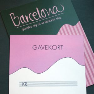 butik barcelona gavekort 250