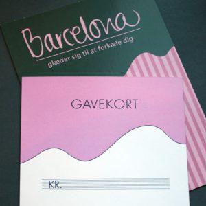 butik barcelona gavekort 500