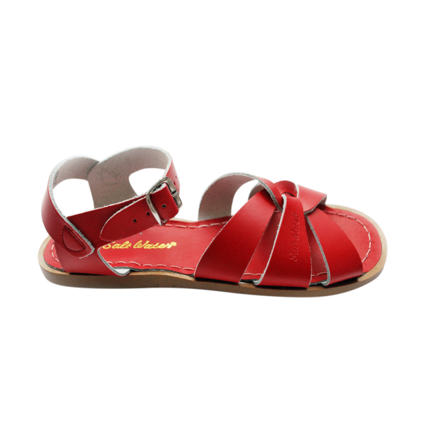 salt water sandal original rød