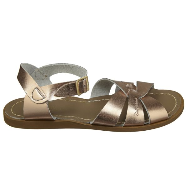salt water sandal original rose guld