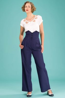emmy the miss fancy pants slacks midnight twill