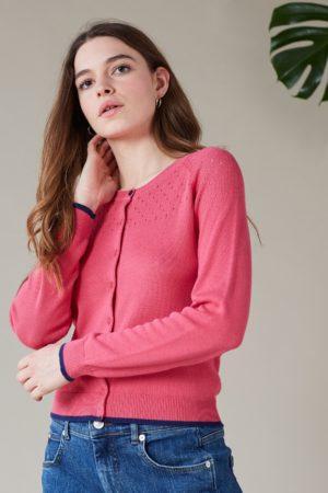 EmilyAndFin Klara Cardigan Pink