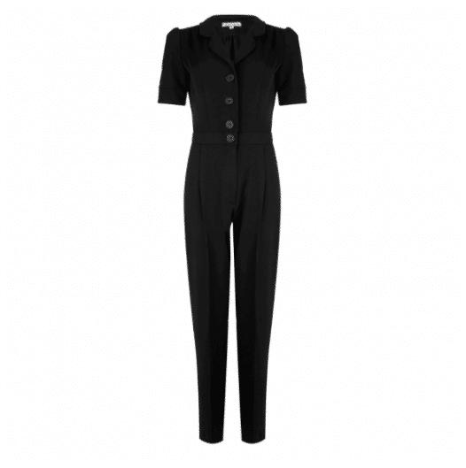 Very Cherry Classic Jumpsuit Black