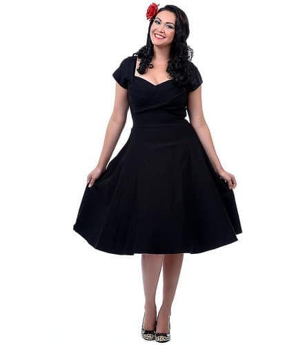 Stop Staring Mad Style Blac Dress