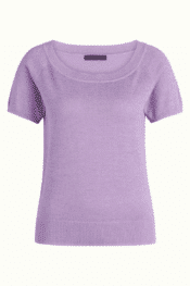 King Louie Boatneck Top Lapis Lavender