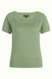 King Louie Boatneck Top Lapis Shade Green