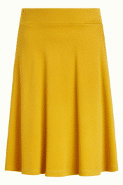 King Louie Sofia Skirt Milano Crepe Sunset Yellow