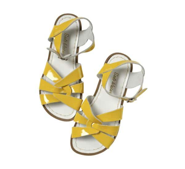 Salt Water Sandal Original Premium Shiny Yellow