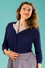 Emmy The Delightful Daytime Cardi Midnight Blue