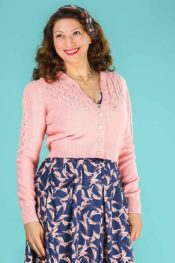Emmy The Peggy Sue Cardigan Emmy Pink
