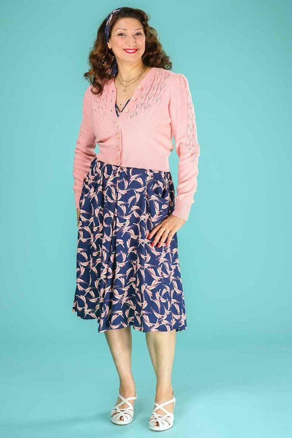 Emmy The Peggy Sue Cardigan Emmy Pink