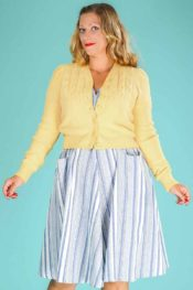 Emmy The Peggy Sue Cardigan Mellow Yellow