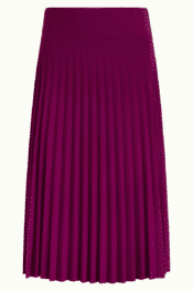 King Louie Border Plisse Skirt Soleil Striking Purple