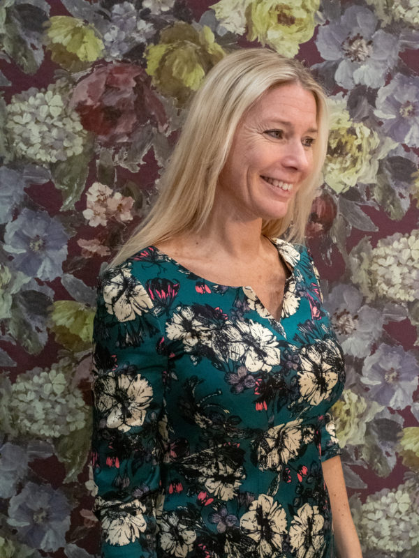 Ellen Eisemann Cosima Floral Green