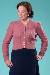Emmy The Ice Skater Cardigan Heather