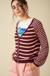 EMILYANDFIN Barbary Stripe Cardi