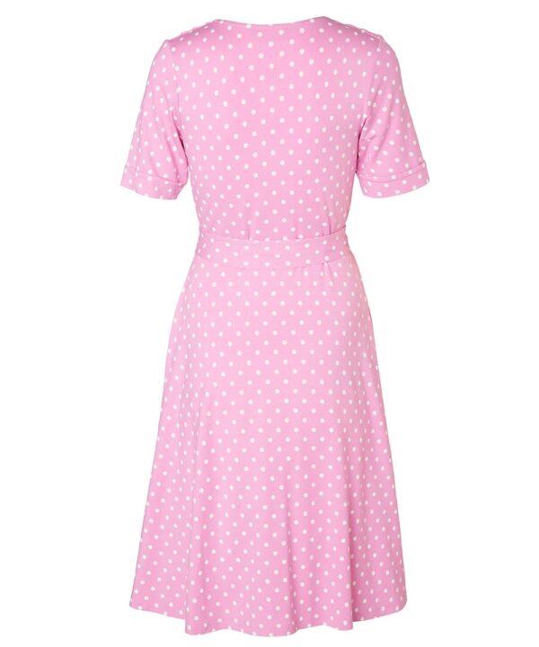 Jumperfabriken Celia SS Dot Pink