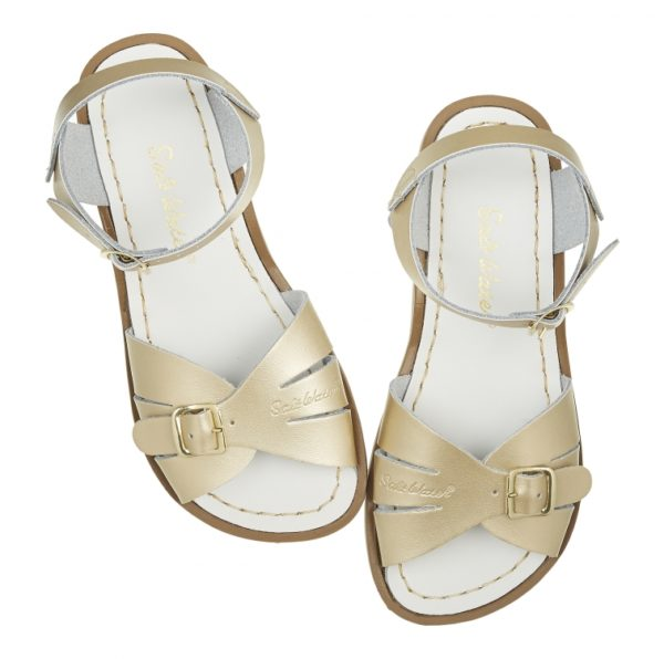 Salt Water Sandal Classic Gold