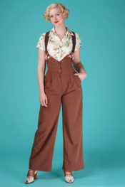 Emmy The Miss Fancy Pants Slacks Brown Melanged