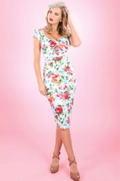 Stop Staring! Billion Dollar Baby Dress Watercolour Floral