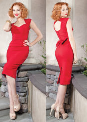 Stop Staring! Love Dress Red