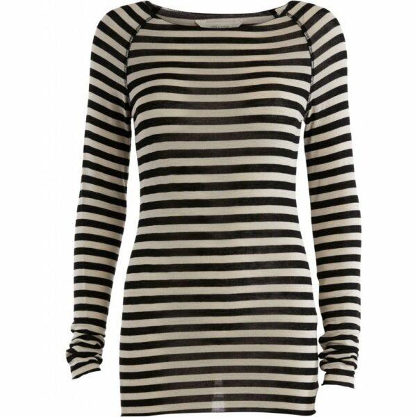 GAI+LISVA Amalie Medium Stripe Chateau Grey Black Stripe