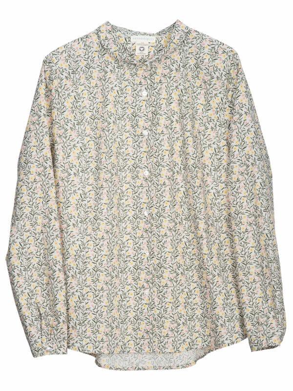 Serendipity Collar Shirt Sweat Pea Light Woven