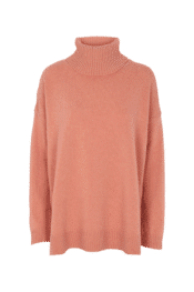 Basic Apparel Line T-neck Muted Clay