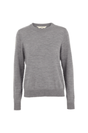 Basic Apparel Vera Sweater Light Grey Mel