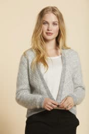 SibinLinnebjerg Yara Sweat Grey Off White