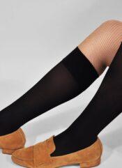 Swedish Stockings Ingrid Knee-Highs Black
