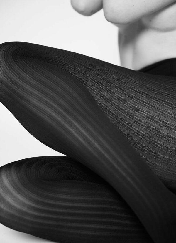 Swedish Stockings Alma Rib Tights Wine