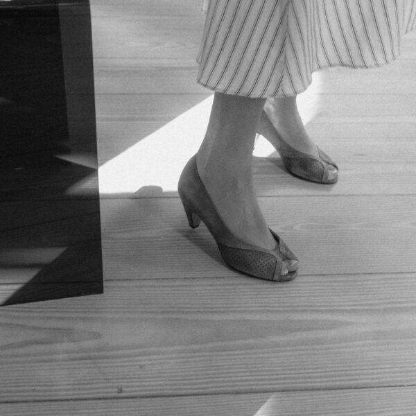 Anonymous Tiffany Stiletto Calf Suede Sand