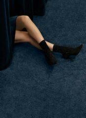 Swedish Stockings Stella Shimmery Socks Black
