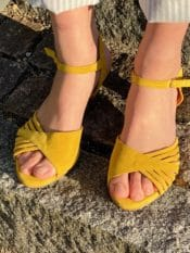 Anonymous Hermine Calf Suede Lemon
