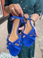 Anonymous Issi 20 Calf Suede Electric Blue