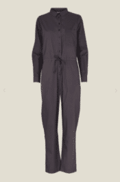 Basic Apparel Vilde Jumpsuit Organic GOTS Blackened Pearl