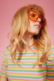 Hunkøn Felipa T-shirt Rainbow