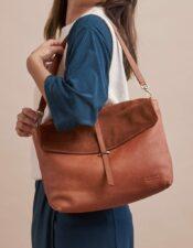 O MY BAG Ella Wild Oak Soft Grain Leather