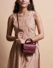 O MY BAG Nano Bag Ruby Classic Leather
