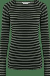 GAI+LISVA Amalie Stripe Dried Leaf Black Stripe
