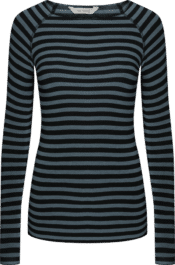 GAI+LISVA Amalie Stripe Winter Blue Black Stripe