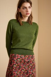 King Louie Audrey Top Organic Lapis Forest Green