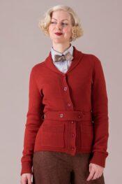 Emmy The Cambridge Cutie Cardi Rust