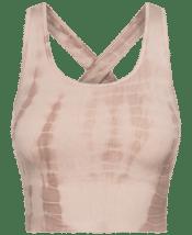 GAI+LISVA Lifa Yoga Top Coublestone Tie Dye